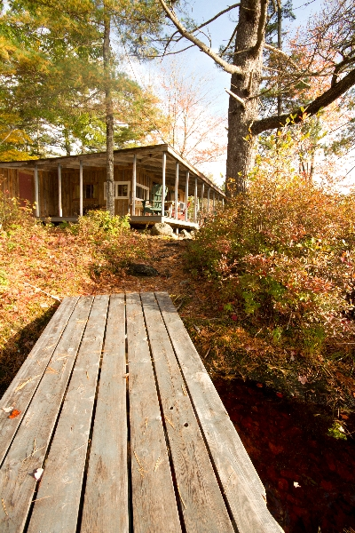Blodgett Cabin Just steps from your dock