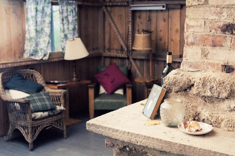 Fox Cabin Main Living room