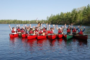 Canoeing in Nova Scotia